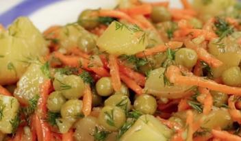 Аппетитный салат из доступных продуктов