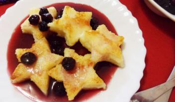 Десерт «Манные звезды»
