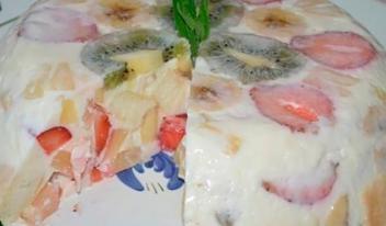 Идеальный десерт лета «Фруктовое наслаждение»