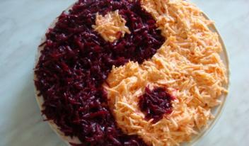 Как приготовить острый салат «Инь-янь»