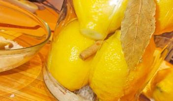 Как заготовить солёные лимоны для закусок