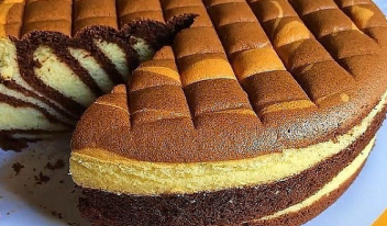 Кекс Пирог «Зебра»