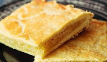 Нежный, сладко-кислый пирог с пикантным ароматом цитруса