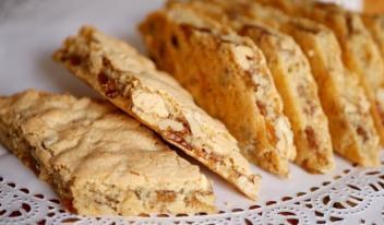 Обалденно вкусное печенье «Мазурка» с прослойкой из сухофруктов и орехов