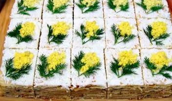 Оригинальная закуска для праздничного стола