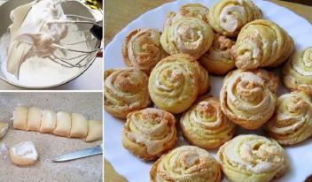 Печенье «Розочки»