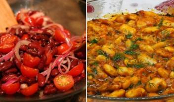 Полезные и ароматные постные блюда из фасоли