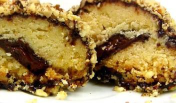 Прекрасный десерт-нежное рассыпчатое печенье в глазури