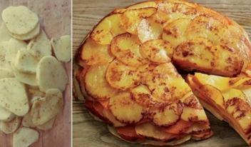Рецепт многослойного пирога из картофеля