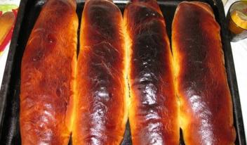 Рулеты из венского теста в хлебопечке