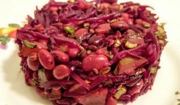 Самые разнообразные рецепты вкусных салатов с фасолью